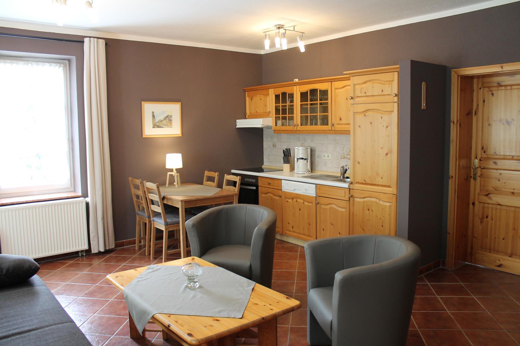 Appartement Bärenstein Essbereich