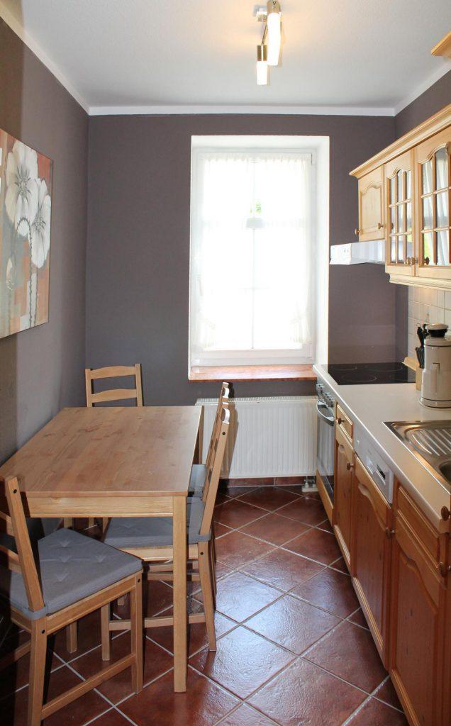 Appartement Pöhlberg Küche