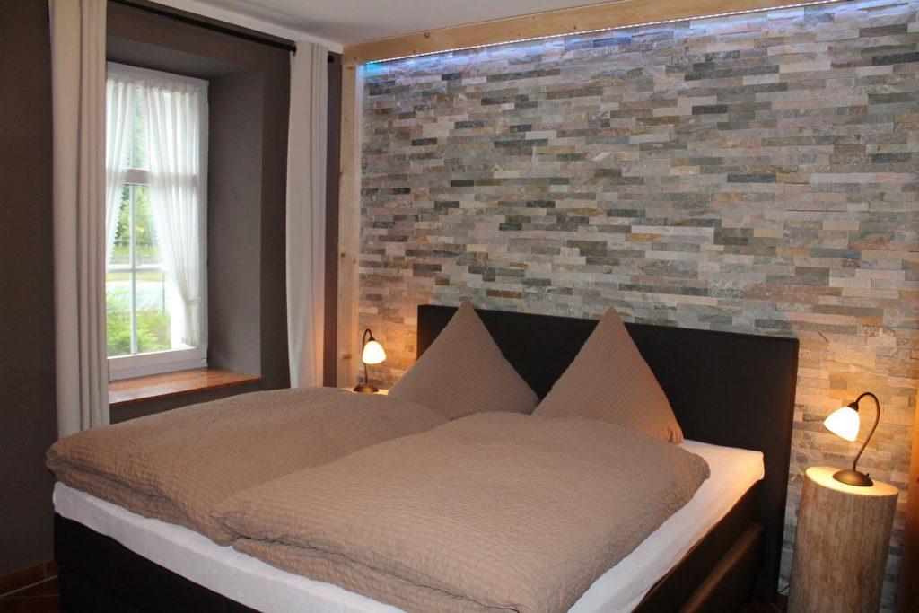 Appartement Pöhlberg Schlafzimmer