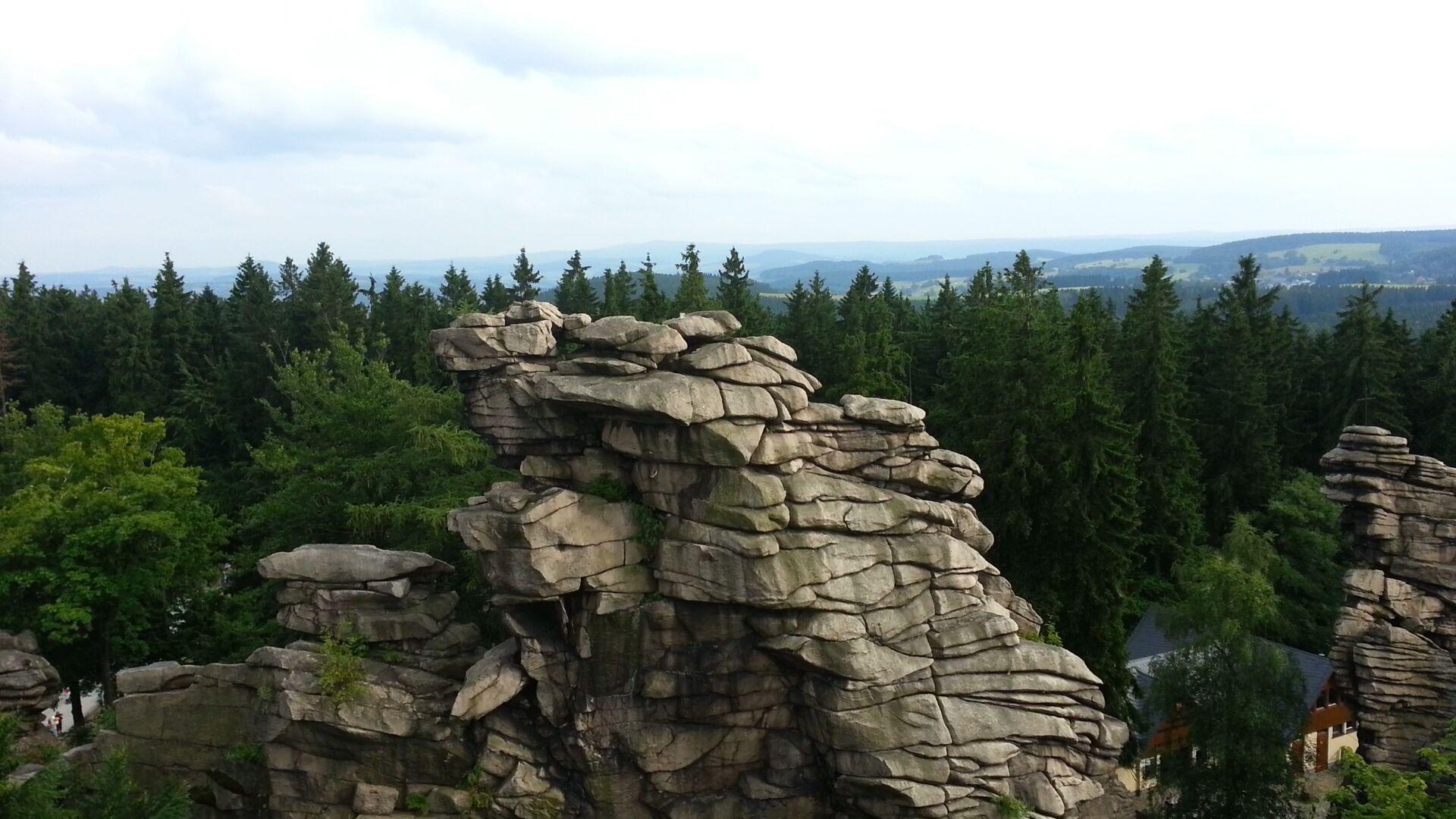 Greifensteine und Felsenbühne