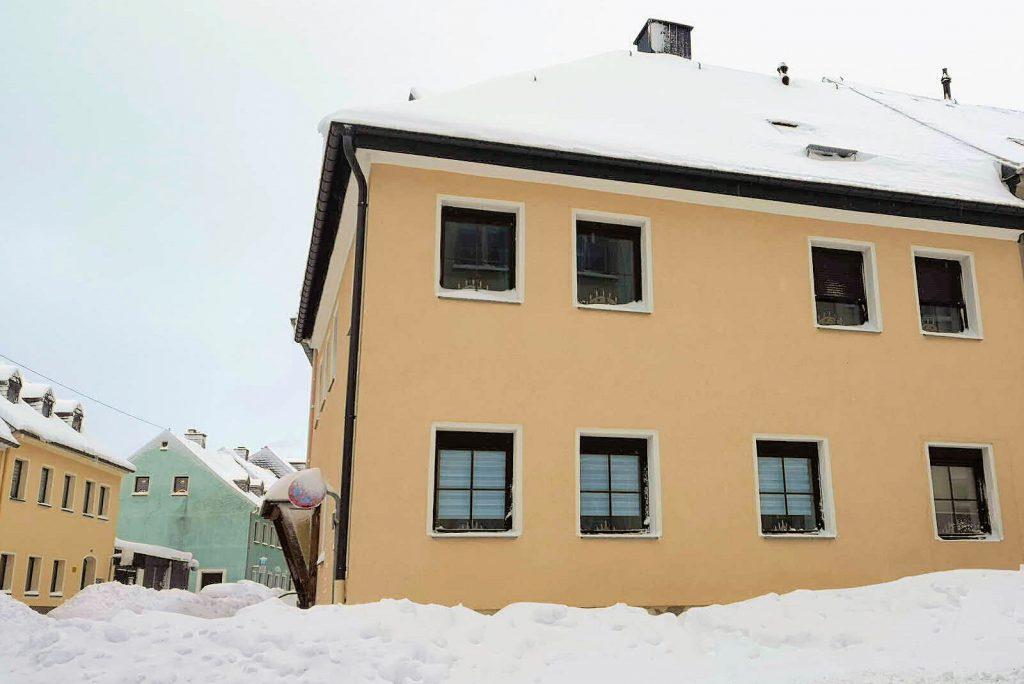 """Ferienwohnung """"Kleine Kirchgasse"""" - Außen im Winter"""