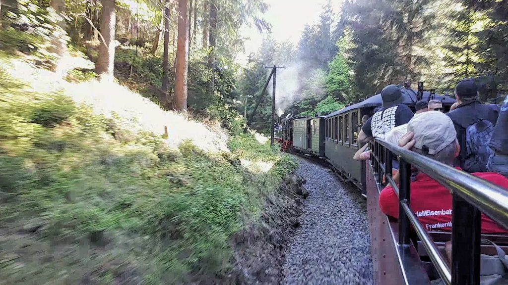 Impressionen Preßnitztalbahn im Sommer