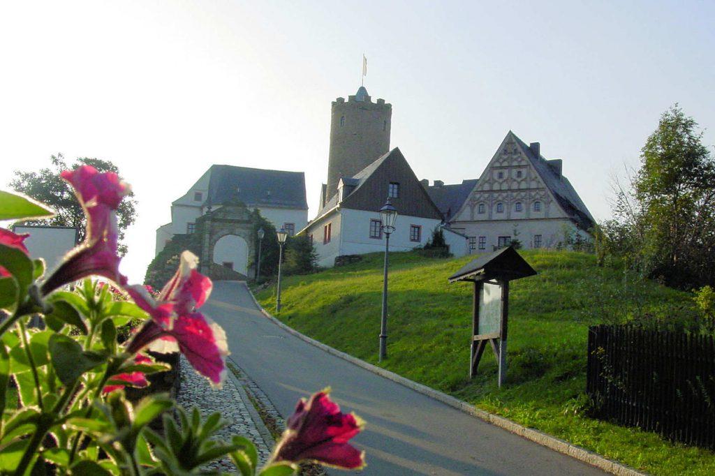 Impressionen Burg Scharfenstein im Sommer