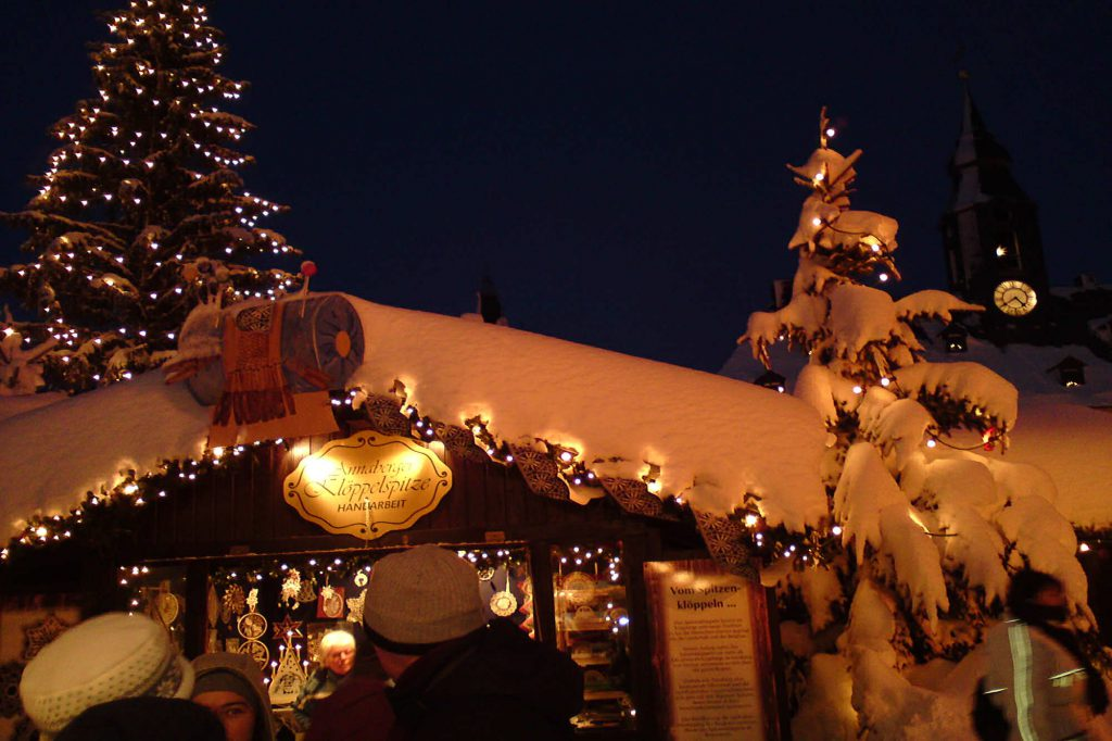 Impressionen Annaberger Weihnachtsmarkt