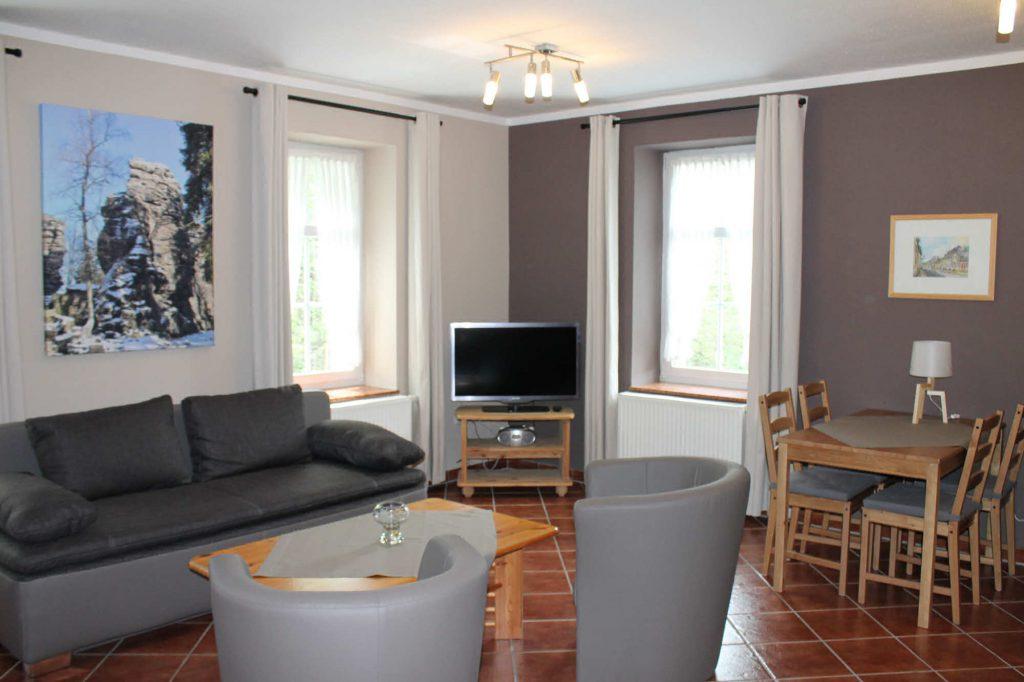 Appartement Bärenstein - Wohnbereich