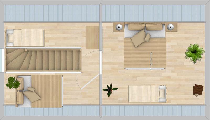 Appartement Fichtelberg - Grundriss Dachgeschoss