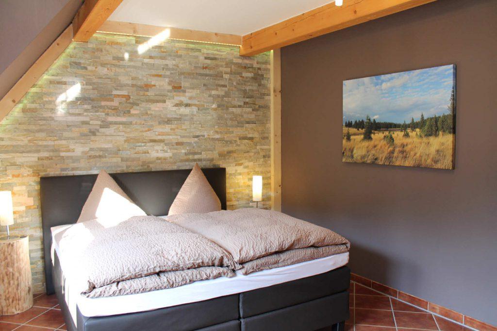 Appartement Keilberg - Schlafzimmer Obergeschoss