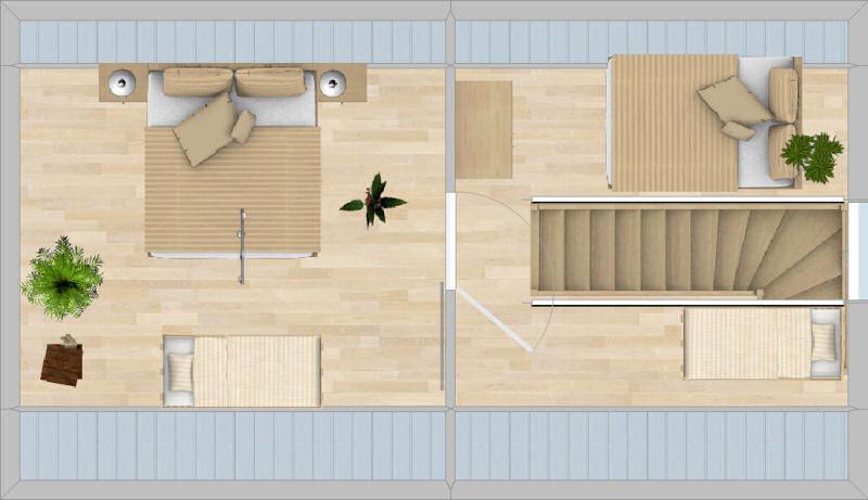 Appartement Keilberg - Grundriss Dachgeschoss