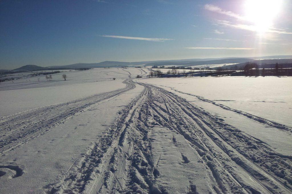 Impressionen Winter Langlauf