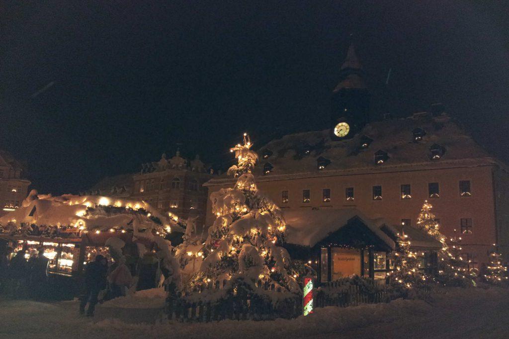 Impressionen Annaberger Weihnachtsmarkt-Romantik