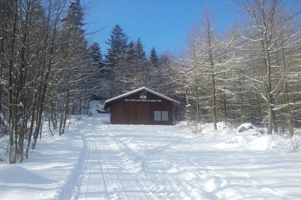 Impressionen Winter Skilift am Pöhlberg