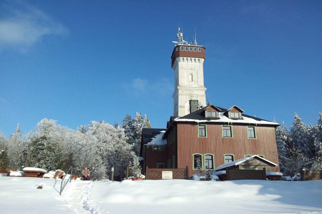 Impressionen Winter Restaurant und Hotel Pöhlberg