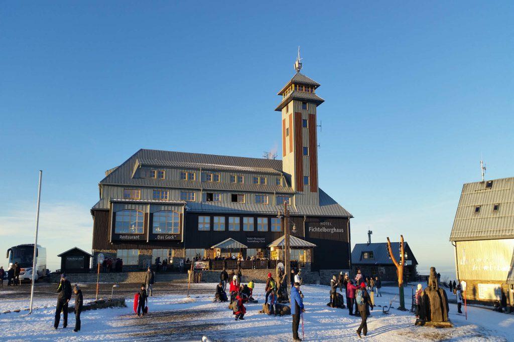 Impressionen Winter auf de Fichtelberg