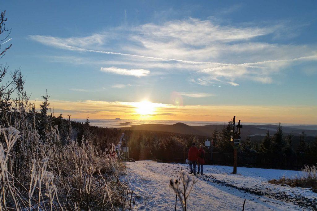Impressionen Winter über den Wolken