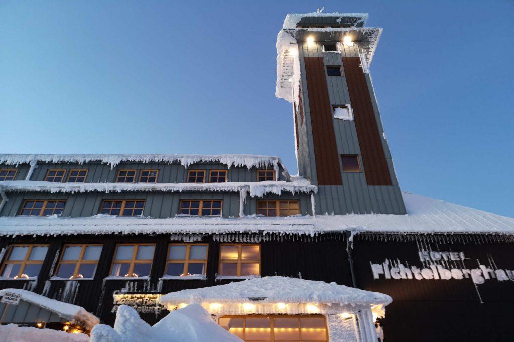 Impressionen Winter Hotel Fichtelberghaus