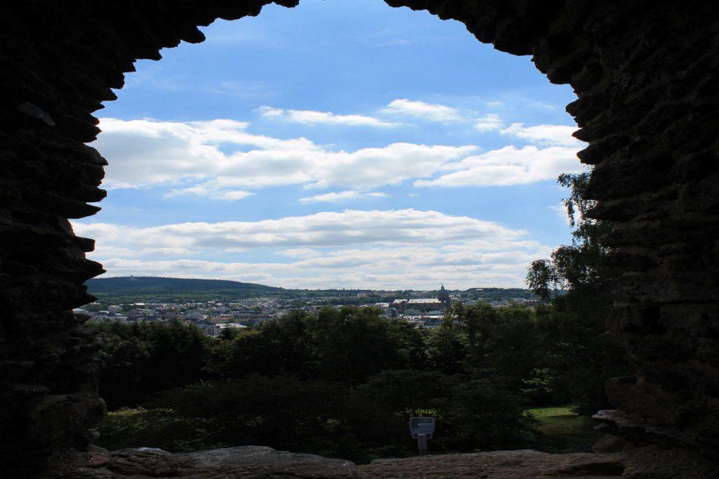 Impressionen Ruine am Schreckenberg