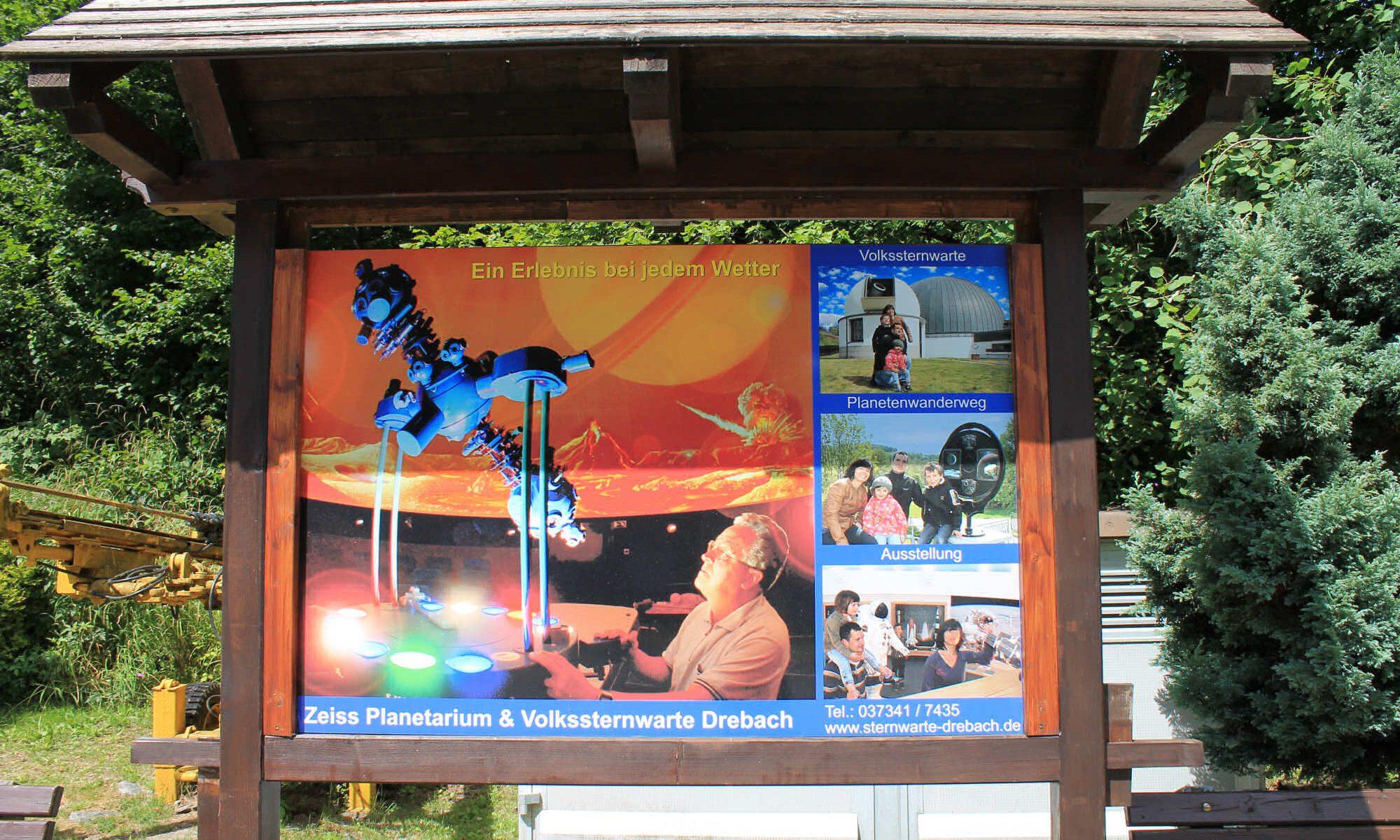 Impressionen Planetarium und Volkssternwarte Drebach