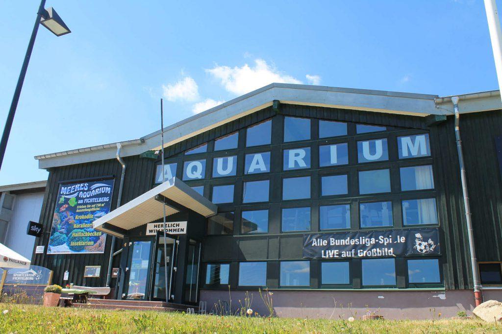 Impressionen Sommer Meeres-Aquarium in Oberwiesenthal