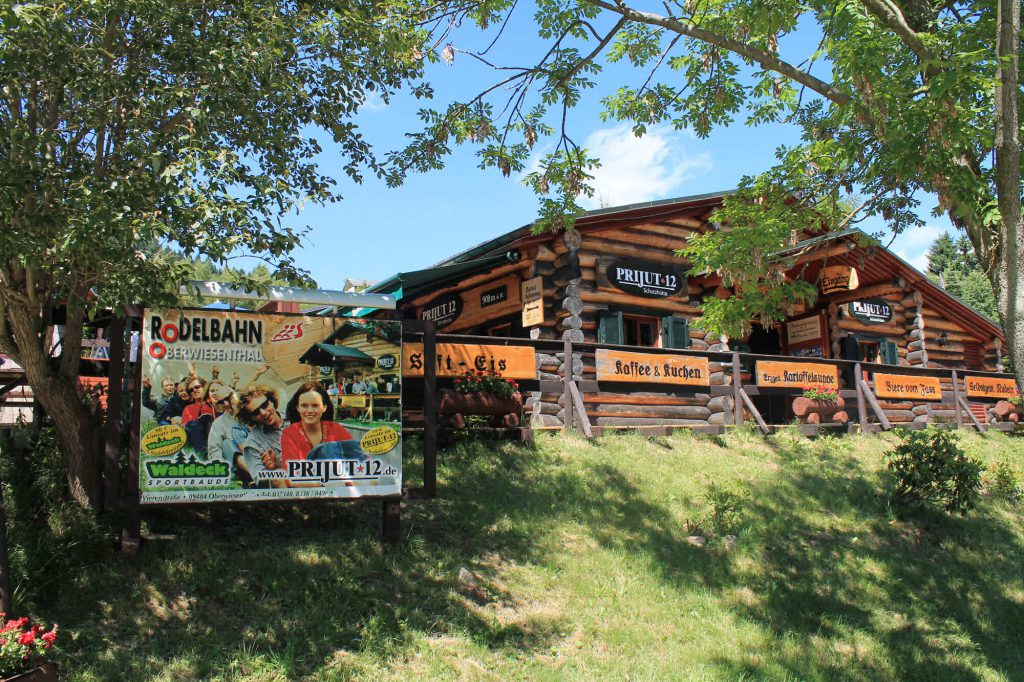 Impressionen Sommer-Rodelbahn in Oberwiesenthal