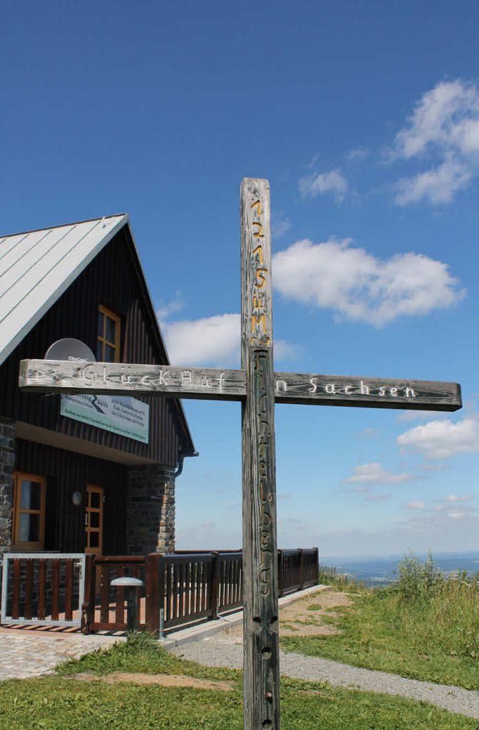 Impressionen Sommer Höhen-Kreuz am Fichtelberg