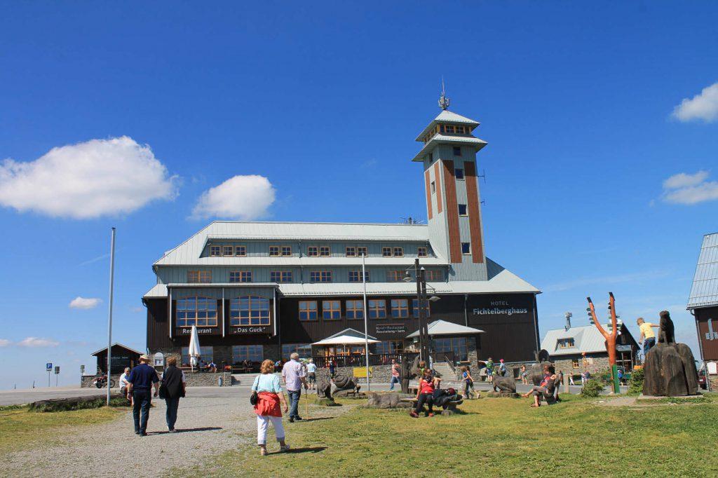 Impressionen Sommer am Fichtelberghaus