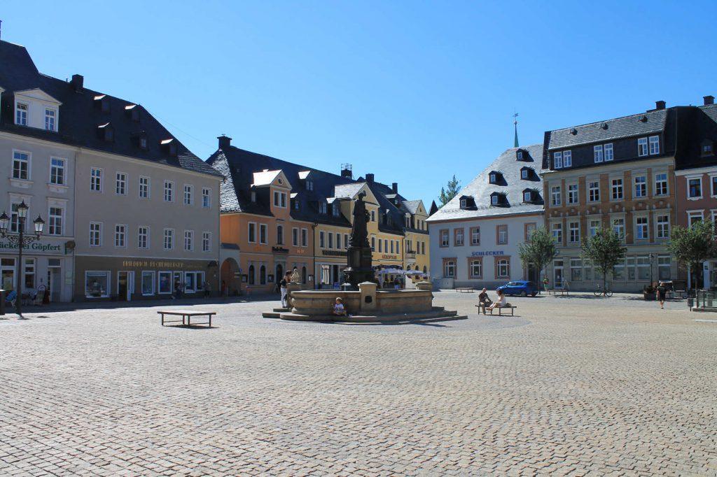 Impressionen Annberg Marktplatz