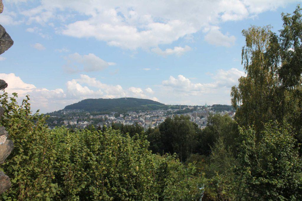 Impressionen Sommer Blick vom Schreckenberg