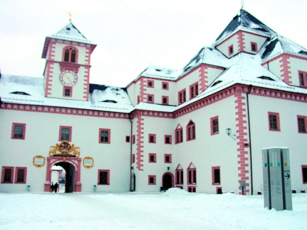 Impressionen Schloss Augustusburg im Winter