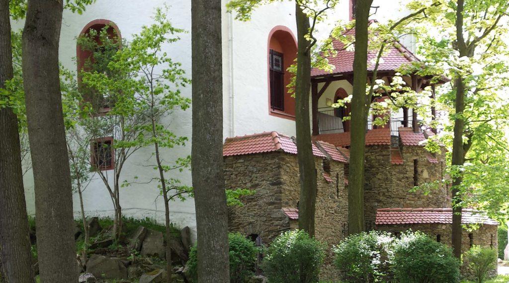 Impressionen Schloss Schlettau im Sommer