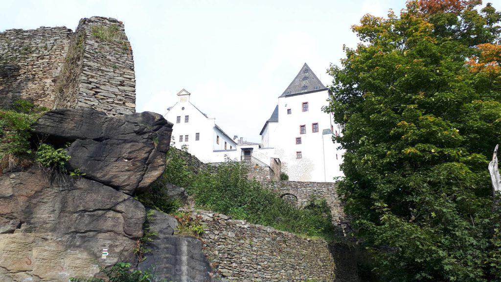 Impressionen Burg Wolkenstein im Sommer