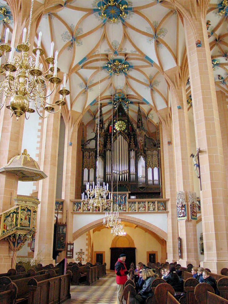 St. Annenkirche in Annaberg-Buchholz Orgel