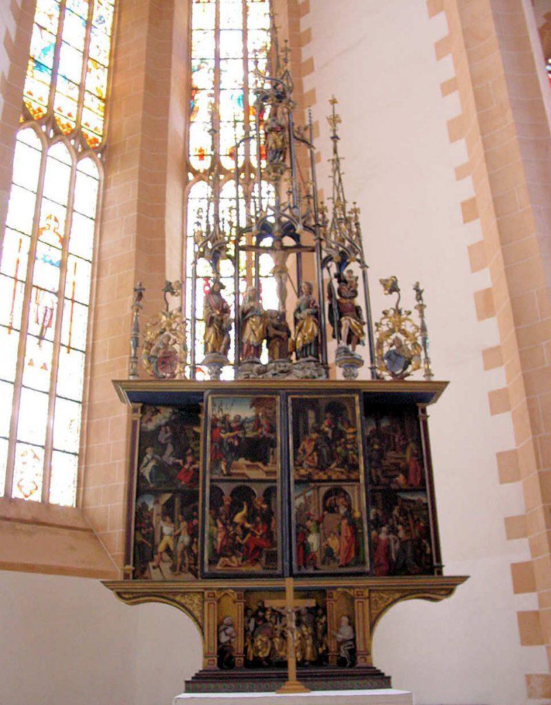 St. Annenkirche in Annaberg-Buchholz Altar