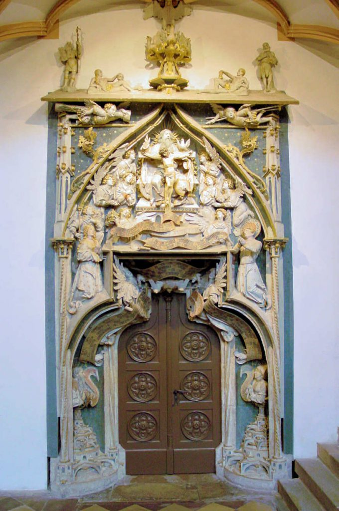 """St. Annenkirche in Annaberg-Buchholz """"Schöne Tür"""""""